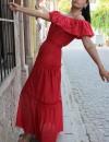 Vintage İspanyol Elbise