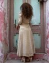 Vintage 70ler Güneş Desenli Elbise