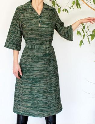 Vintage 70ler Elbise
