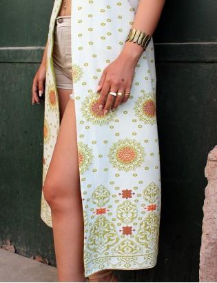 Vintage 70ler Tasarım Elbise