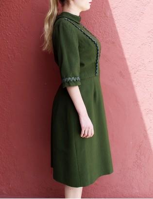 Vintage 60lar Terzi Dikimi Elbise