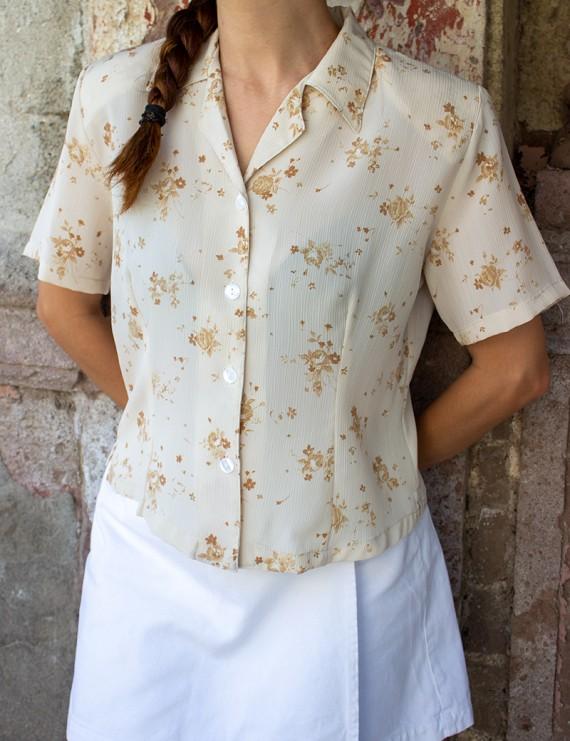 Vintage Romantik Gömlek