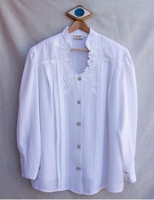 Vintage 80ler Maria Bellesi Gömlek
