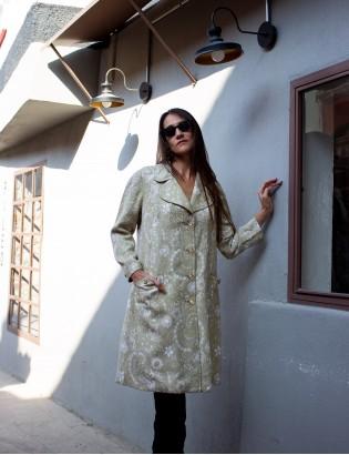 Vintage 70ler Terzi Dikimi Palto